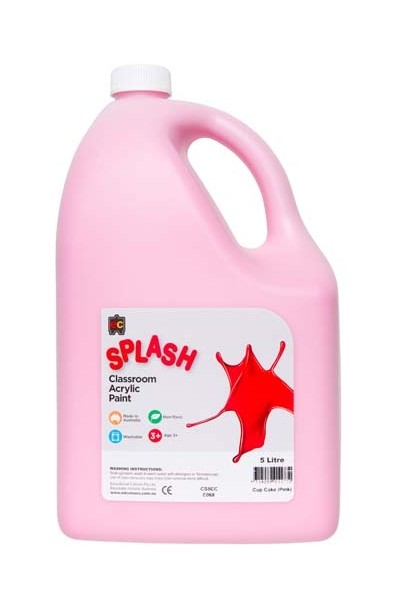 Splash Acrylic Paint - Cupcake (Pink)