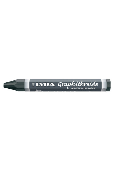 LYRA Graphite Crayon 6B Water Soluble - Pack of 12