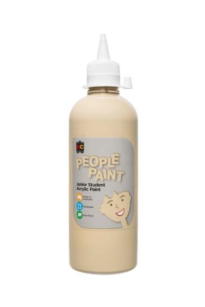 People Paint Junior Acrylic Paint 500mL - Flesh Tone Olive