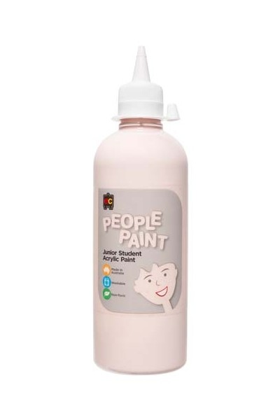 People Paint Junior Acrylic Paint 500mL - Flesh Tone Peach
