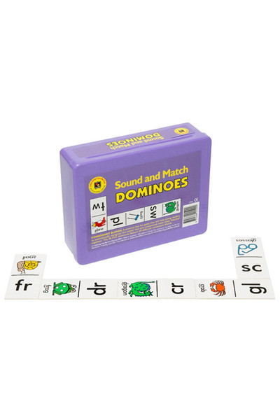 Blending Consonants Dominoes
