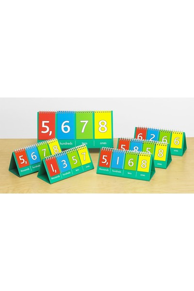 Place Value Flip Charts - Pack of 10
