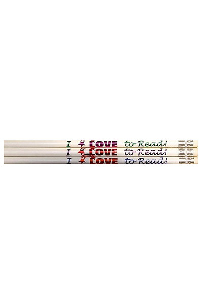 I Love To Read Pencils - Pack of 10