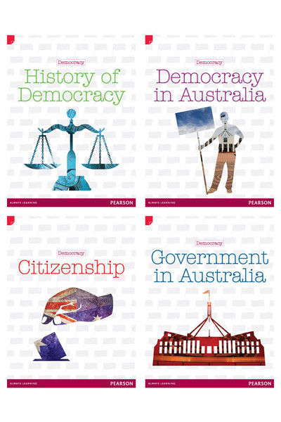 Discovering History - Upper Primary: History Topic Books - Democracy Pack