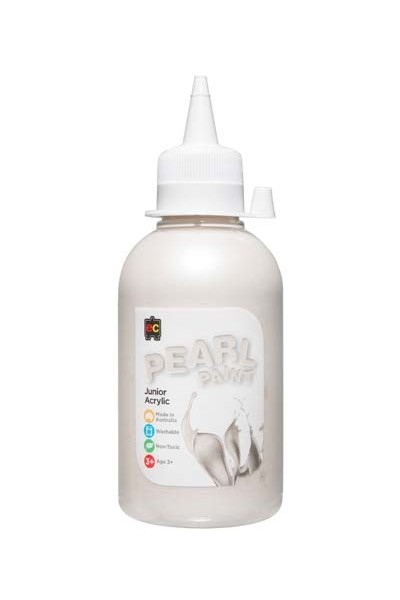 Pearl Paint Junior Acrylic Paint 250mL - White