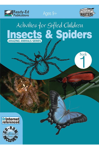 Activities for Gifted Children - Book 1: Insects and Spiders