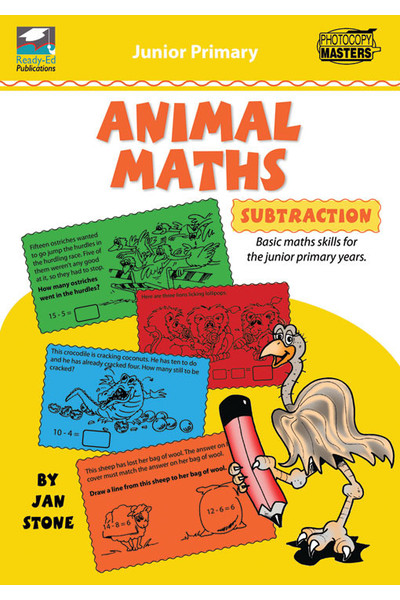 Animal Maths Series - Subtraction
