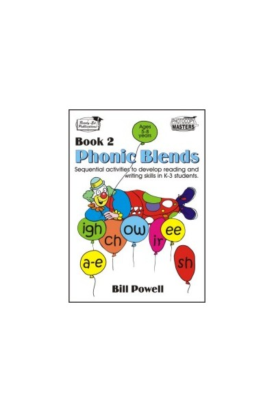 Phonic Blends - Book 2