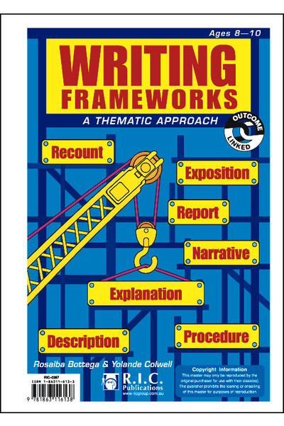Writing Frameworks - Ages 8-10