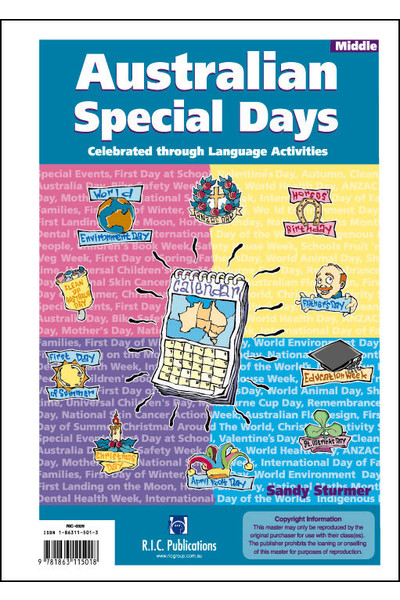 Australian Special Days - Ages 8-10