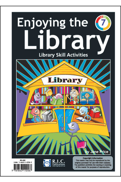 Enjoying the Library - Level 7: Ages 11-12
