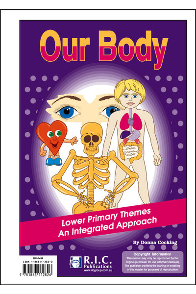 Lower Primary Themes - An Integrated Approach: Our Body