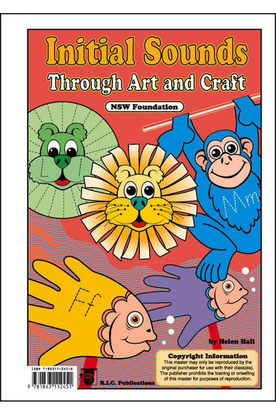 Initial Sounds - Through Art and Craft Book 1 - NSW Foundation
