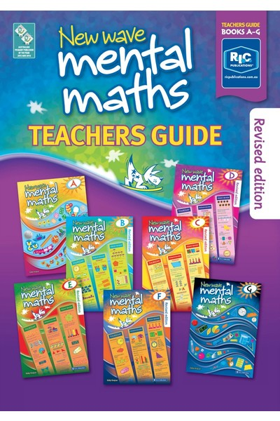 New Wave Mental Maths - Teachers Guide (Revised Edition)