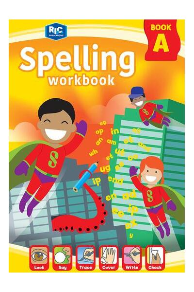 Spelling Workbook - Book A: Ages 5-6