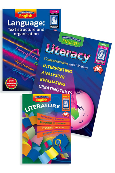 Australian Curriculum English BLM Bundle - Year 4