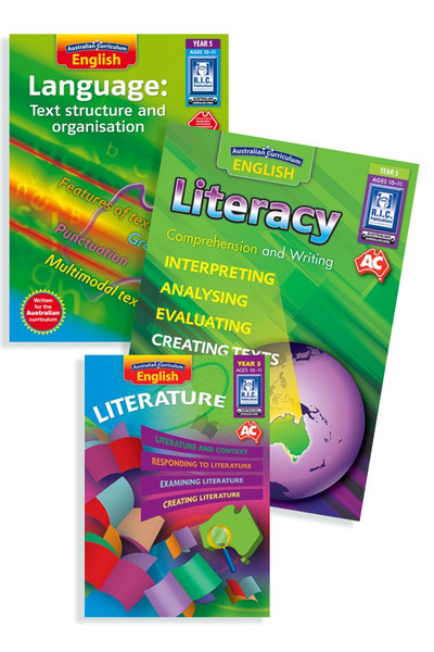 Australian Curriculum English BLM Bundle - Year 5