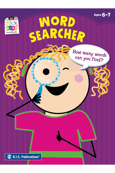 Stick Kids English - Ages 6-7: Word Searcher