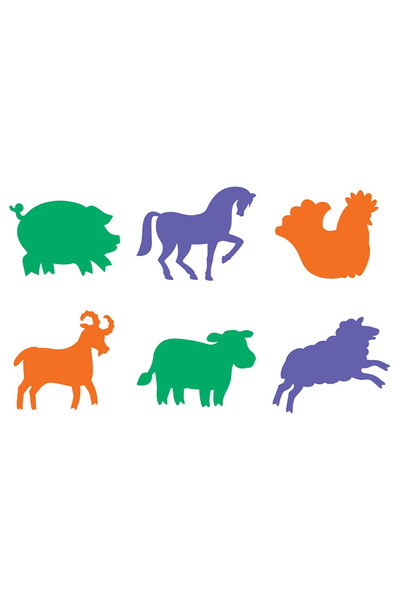 Stencil: Farmyard Animals