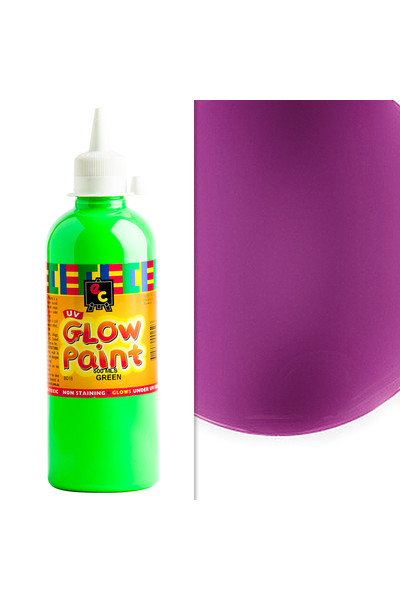 UV Glow Paint 500mL - Violet