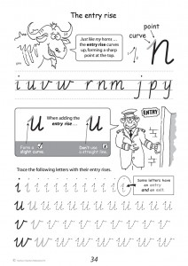 Handwriting Conventions NSW Year 3 - Sample 1