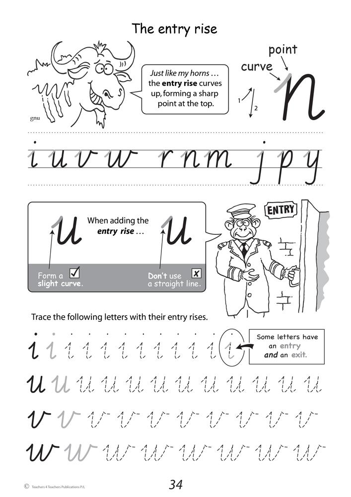 Foundation Handwriting Worksheets Mattawa
