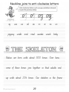 Handwriting Conventions NSW Year 5 - Sample 1