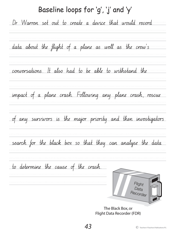 Handwriting conventions nsw year 6 teachers 4 teachers handwriting conventions nsw year 6 sample 2 fandeluxe Image collections