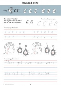 Handwriting Conventions Queensland Year 2 - Sample 1
