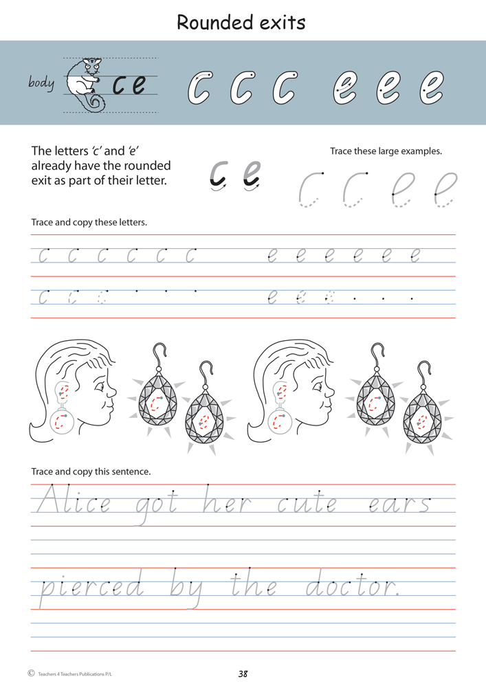 handwriting conventions qld year 2 teachers 4 teachers educational resources and supplies. Black Bedroom Furniture Sets. Home Design Ideas