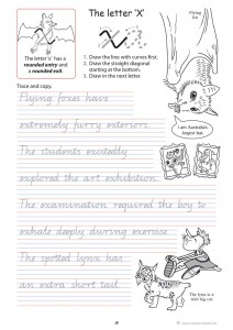 handwriting conventions qld year 4 teachers 4 teachers educational resources and supplies. Black Bedroom Furniture Sets. Home Design Ideas
