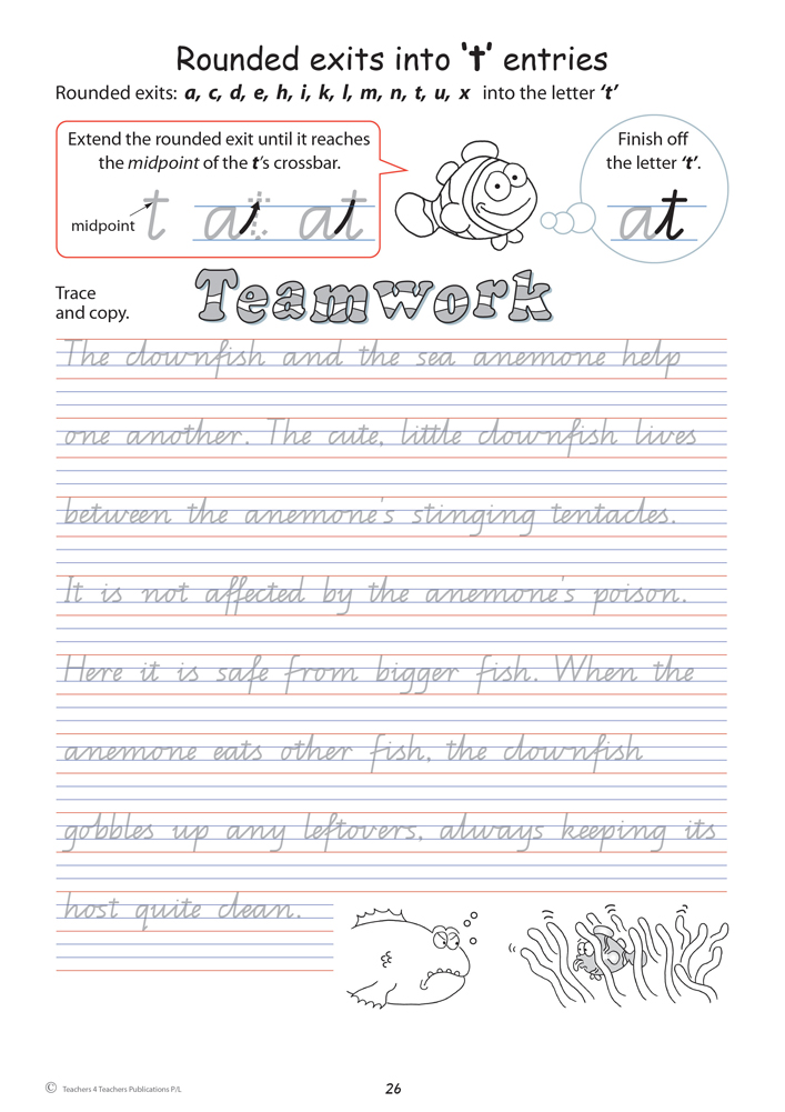 handwriting conventions qld year 5 teachers 4 teachers educational resources and supplies. Black Bedroom Furniture Sets. Home Design Ideas