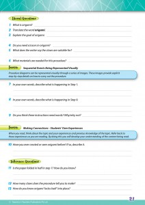 Reading Conventions Year 6 - Sample 2
