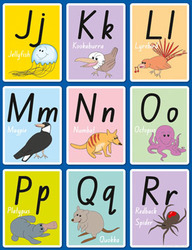 Alphabet Activity Pack - J to R