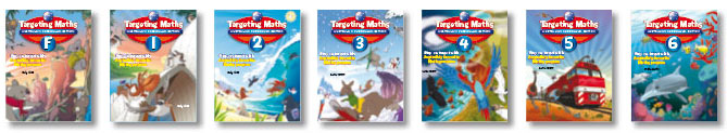 Targeting Maths - Australian Curriculum Edition - Program - Student Books
