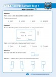 Excel - Year 7 - NAPLAN Style - Numeracy Tests - Sample Pages - 8