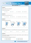 Excel - Year 7 - NAPLAN Style - Numeracy Tests - Sample Pages - 9