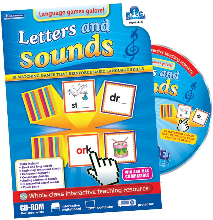 Games Galore: Letters and Sounds