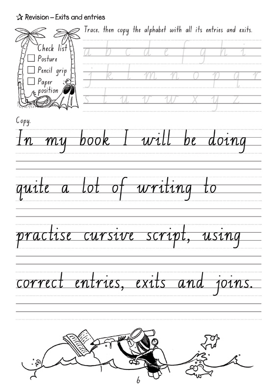 Targeting Handwriting NSW - Student Book: Year 4 - Pascal ...