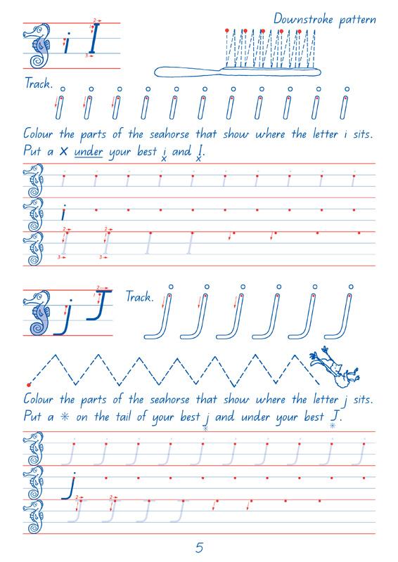 Targeting Handwriting Qld Student Book Year 2 Pascal