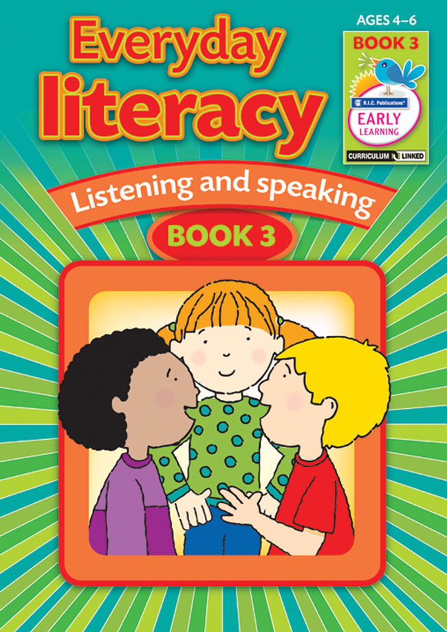 Everyday Literacy - Speaking and Listening: Book 3