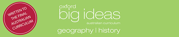 Oxford Big Ideas Geography/History Banner