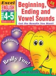 Excel Early Skills - English Book 6 Beginning, Ending and Vowel Sounds