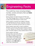 Go Facts - Built Environments - Engineering Feats - Sample Page