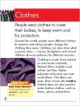 Go Facts - Changing Times - Clothes - Sample Page