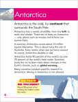 Go Facts - Polar Regions - Antarctica - Sample Page