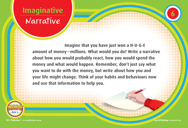 imaginative writing prompts The best collection of free 3rd grade writing prompts and third grade essay topics.