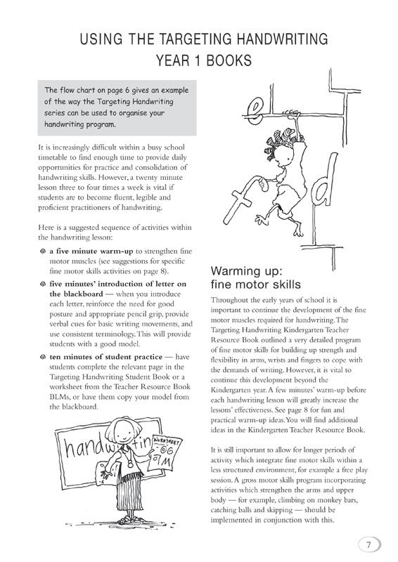 targeting handwriting nsw teacher resource book kindergarten pascal press educational. Black Bedroom Furniture Sets. Home Design Ideas