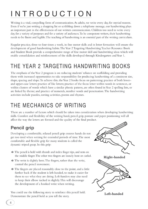 targeting handwriting nsw teacher resource book year 1 pascal press educational resources. Black Bedroom Furniture Sets. Home Design Ideas
