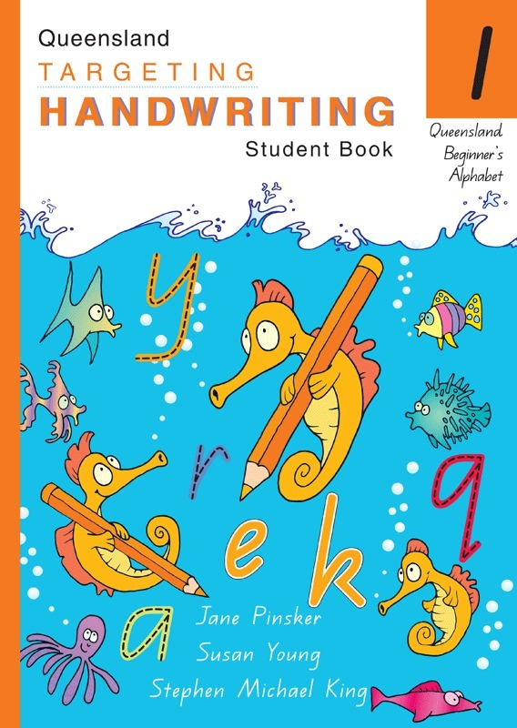 targeting handwriting qld - student book  year 1